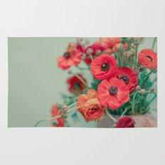 Spring Poppies Rug