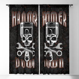 Hammer Down Blackout Curtain