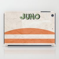 movie poster iPad Cases featuring Juno - Alternative Movie Poster by Stefanoreves