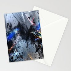 Deep Eyes Digital Abstract Stationery Cards