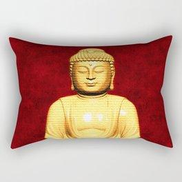 Buddha Enlightened Rectangular Pillow