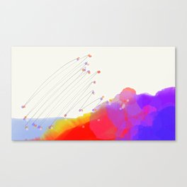 Constellation Hills Canvas Print