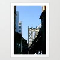 cosima Art Prints featuring MB/BKLYN by Cosima Higham