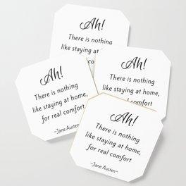 Jane Austen - Home Coaster