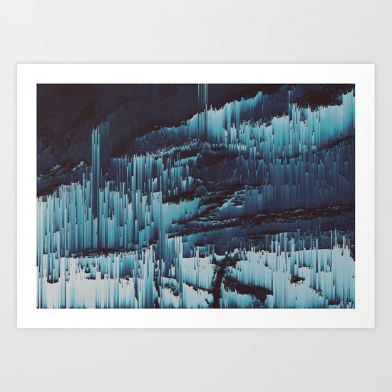 Harsh Art Print