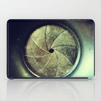 aperture iPad Cases featuring aperture1 by Art by Kaitlyn Alyse