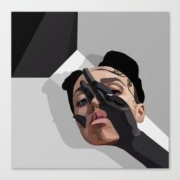 FKA Twigs: M3LL155X Canvas Print
