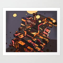 Locals Only - The Bronx, NY Art Print