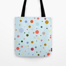 Blue Confetti Tote Bag