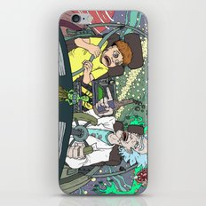 Rick and Morty by Aaron Bir iPhone & iPod Skin