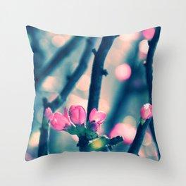 Spring Bling Bling Throw Pillow
