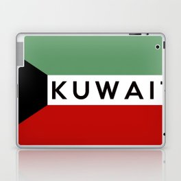 flag of Kuwait Laptop & iPad Skin
