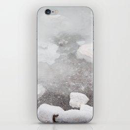 White water iPhone Skin