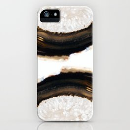 Agate Translucent #Brown #1 #decor #art #society6 iPhone Case