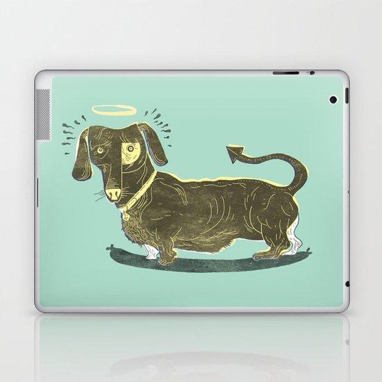 Bad Dog! (The Little Dachshund That Didn't) Laptop & iPad Skin