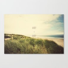 wonder + wander Canvas Print
