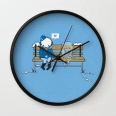 Wish You Were Here Wall Clock