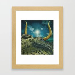 The Horned God Framed Art Print