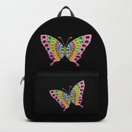 Jeweled Butterfly Backpack