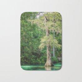 Florida Cypress Tree and Spring Bath Mat