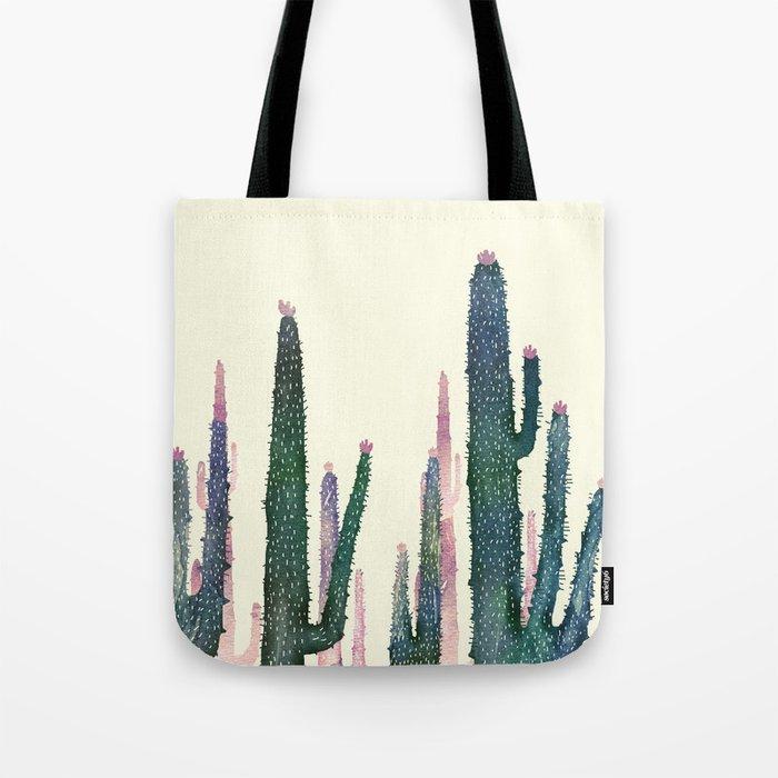 cactus water color cut Tote Bag