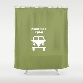 Summer 1969 - Green Shower Curtain