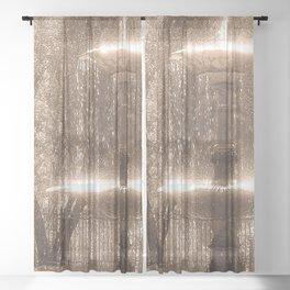 Fountain Sheer Curtain