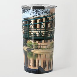 Red Brick Reflections Travel Mug