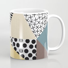 Abstract Geometry Coffee Mug