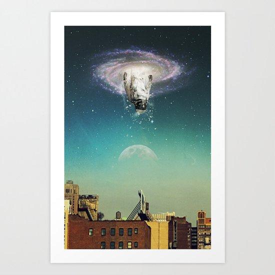 The Portal The Arrival Art Print