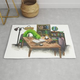 Little Worlds: The Library Rug