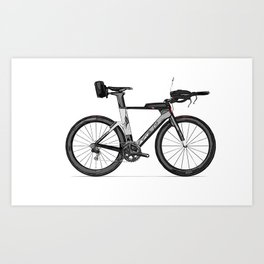 T.T. Bike Art Print