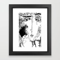 So So Real Framed Art Print