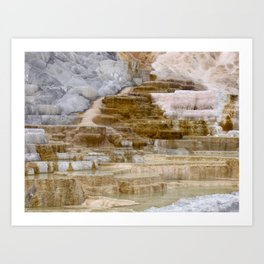Sulfur Formation Art Print