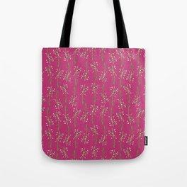 Myrtle Magenta Tote Bag