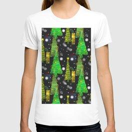 Christmas Snow Fall - Merry Christmas T-shirt