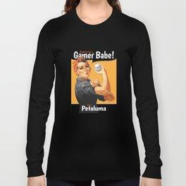 Gamer Babe - Petaluma Long Sleeve T-shirt