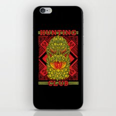Hunting Club: DevilJho iPhone & iPod Skin