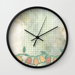 M spring kitchen - Jingle flower buds Wall Clock