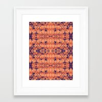 jungle Framed Art Prints featuring Jungle by Nahal