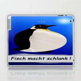 Fisch macht schlank. Laptop & iPad Skin