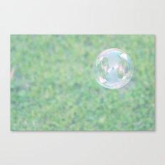 Bubble Canvas Print