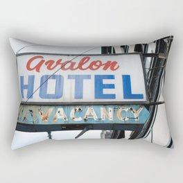 358. Avalon Hotel No Vacancy, Vancouver, Canada Rectangular Pillow