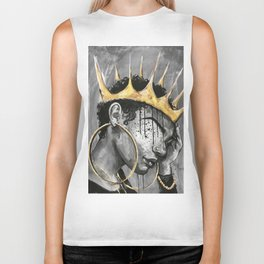Naturally Queen X Biker Tank