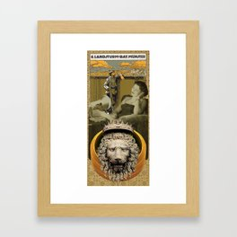 Lion of Light and Landsturm (Girls and Boys) Framed Art Print