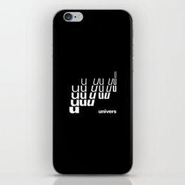 UNIVERS iPhone Skin