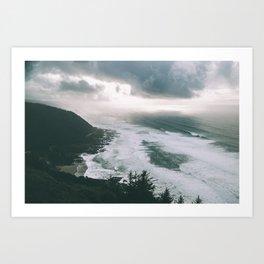 Oregon Coast XIII Art Print