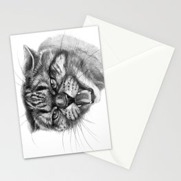 Wicked Cat portrait G131 Stationery Cards
