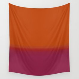 Gradient - Orange and Red Hue Wall Tapestry