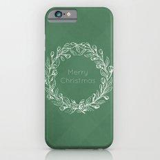 Simple Christmas Wreath iPhone 6s Slim Case